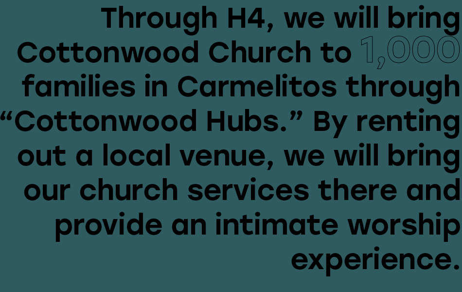 Carmelitos families' impact by H4